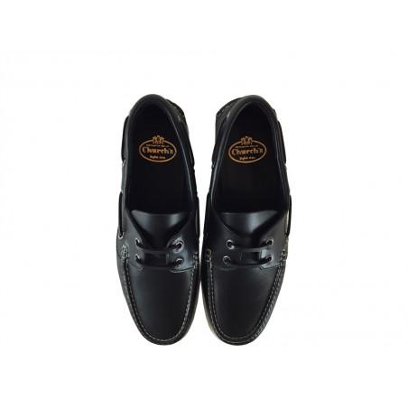 church's chaussures bateau marskeMARSKE - CUIR - NAVY