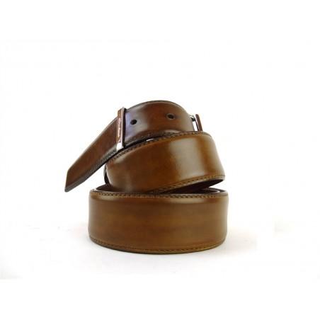 santoni ceintures ceinturi premiumCEINTURI PREMIUM - CUIR PATINÉ -