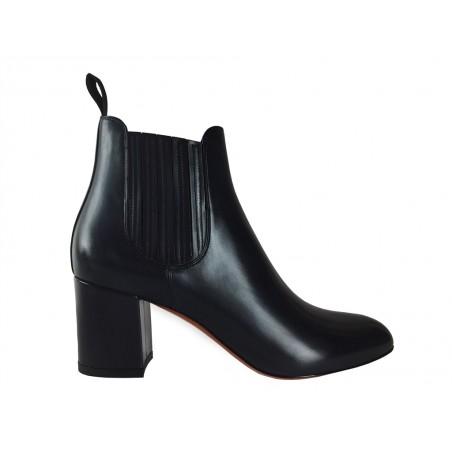 santoni Boots & low boots venusVENUS - CUIR PATINÉ - MARINE