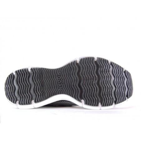 hogan Sneakers hollo xHOLLO X - CUIR PERFORÉ - ACIER