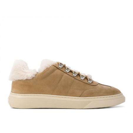 hogan Sneakers homontHOMONT - CUIR ET NUBUCK - BEIGE