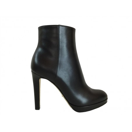 sergio rossi Boots & low boots ross boots rond patROSS BOOTS ROND PAT - CUIR - NOI