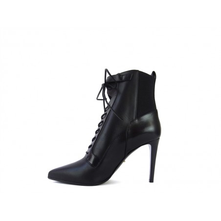 sergio rossi Boots & low boots ross bottine t9ROSS BOTTINE T9 - CUIR - NOIR