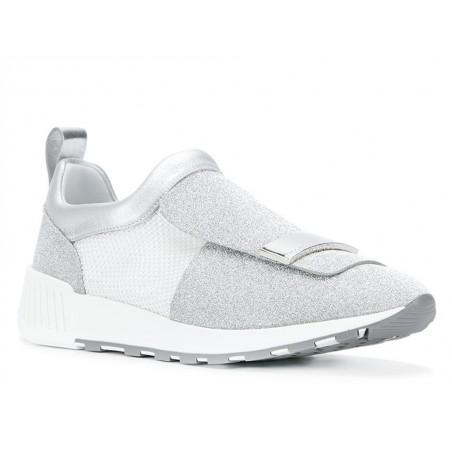 sergio rossi Sneakers ross runningROSS RUNNING - GLITTER ET TISSUS