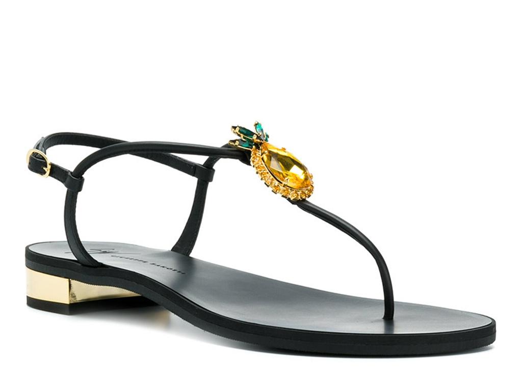 giuseppe zanotti Sandales gz f nupied bijoux Détails