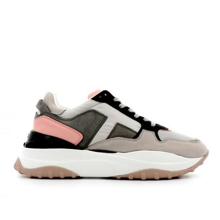 tod's Sneakers todbasketTODBASKET - CUIR, NUBUCK ET TOIL