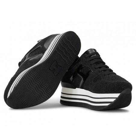 hogan Sneakers elium doubleELIUM DOUBLE - NUBUCK ET PAILLET