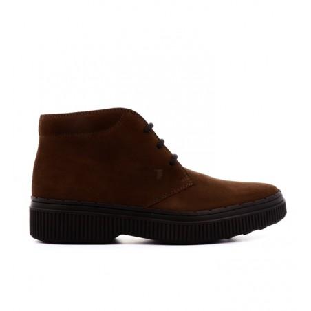 tod's Boots & bottillons pietroPIETRO - NUBUCK - MARRON
