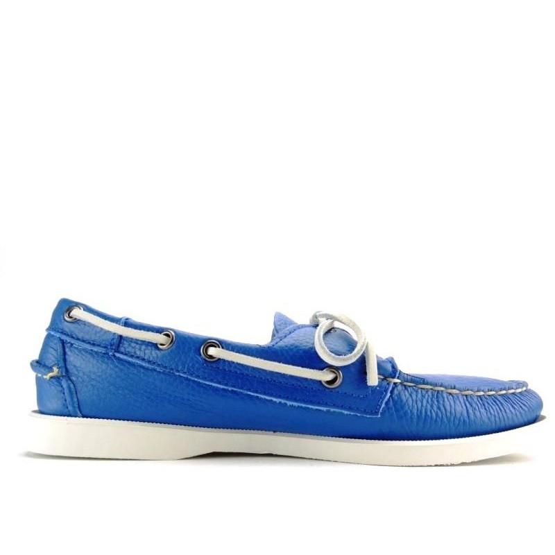 sebago nouveautés chaussures bateau docksides portlandDOCKSIDES PORTLAND - CUIR GRAINÉ