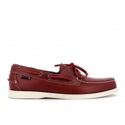 sebago nouveautés chaussures bateau docksides portlandDOCKSIDES PORTLAND - CUIR - ROUG