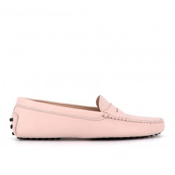 tod's mocassins & slippers Mocassins GomminoTODWOMEN - CUIR GRAINÉ - ROSE