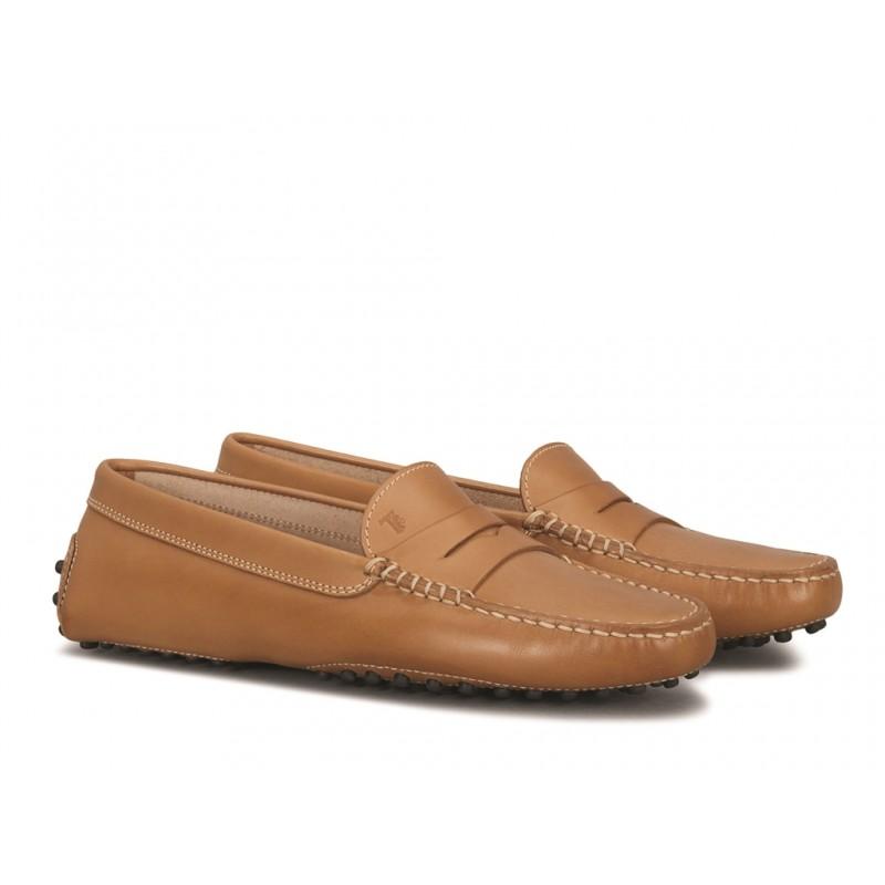 tod's mocassins & slippers Mocassins GomminoTODWOMEN - CUIR - KÉNYA