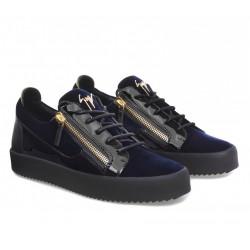 giuseppe zanotti nouveautés sneakers Sneakers FrankieGZ H FRANKIE - CUIR ET VELOURS -