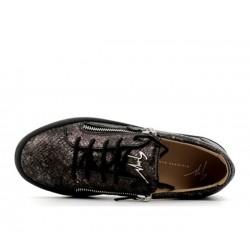 giuseppe zanotti nouveautés sneakers Sneakers FrankieGZ H FRANKIE - CUIR IMPRIMÉ PYTH