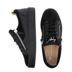 giuseppe zanotti sneakers Sneakers FrankieGZ H FRANKIE - CUIR ET NUBUCK -