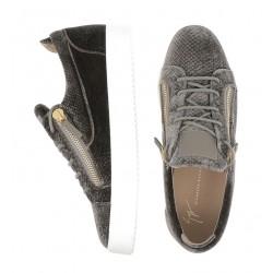 giuseppe zanotti nouveautés sneakers Sneakers FrankieGZ H FRANKIE - VELOURS IMPRIMÉ -