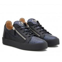 giuseppe zanotti nouveautés sneakers Sneakers FrankieGZ H FRANKIE - CUIR ET CUIR IMPR