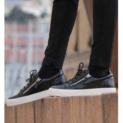 giuseppe zanotti nouveautés sneakers Sneakers FrankieGZ H FRANKIE - CUIR IMPRIMÉ CROC