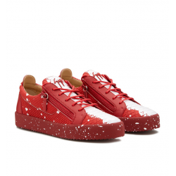 giuseppe zanotti sneakers Sneakers FrankieGZ H FRANKIE - CUIR IMPRIMÉ LÉZA