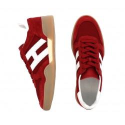 hogan sneakers Sneakers H357HH H357 - NUBUCK ET TOILE - ROUG