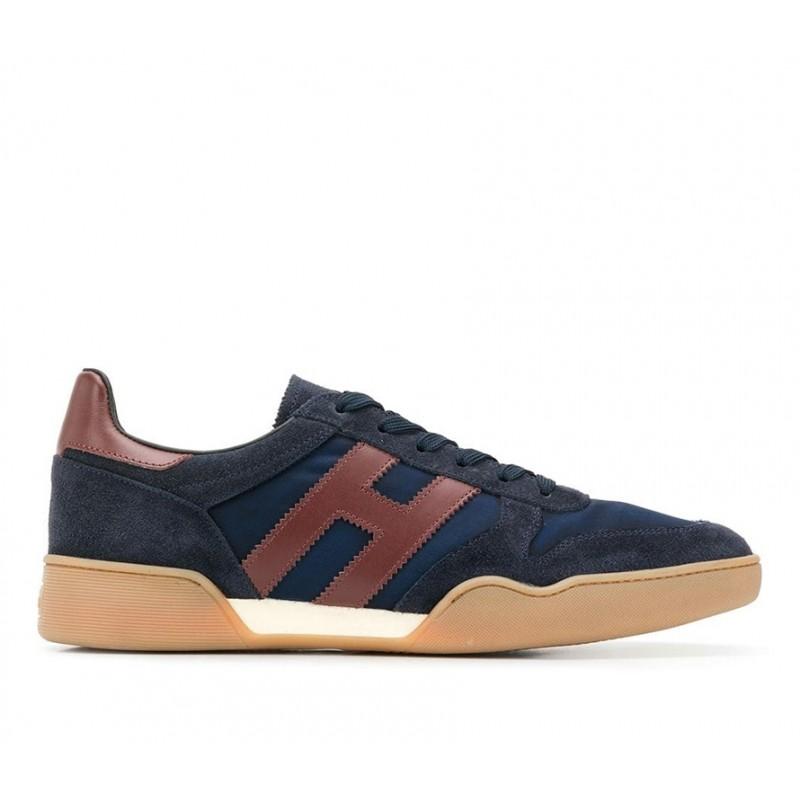 hogan sneakers Sneakers H357HH H357 - NUBUCK ET TOILE - MARI