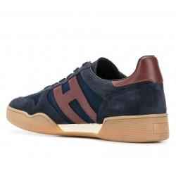 hogan nouveautés sneakers Sneakers H357HH H357 - NUBUCK ET TOILE - MARI