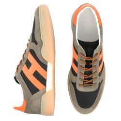 hogan sneakers Sneakers H357HH H357 - NUBUCK ET TOILE - TAUP