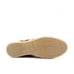 hogan nouveautés sneakers Sneakers H357HH H357 - NUBUCK ET TOILE - TAUP
