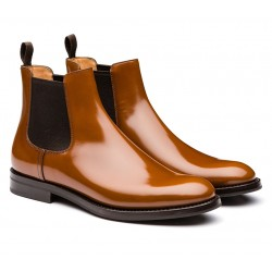 church's bottines monmouthMONMOUTH - CUIR GLACÉ - SANDALWO