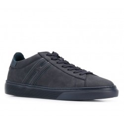 hogan nouveautés sneakers Sneakers H365HH H365 - NUBUCK - MARINE