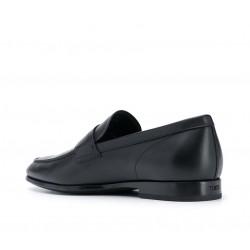 tod's mocassins et slippers MocassinsRIALTO 3 - CUIR MAT - NOIR