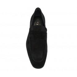 tod's mocassins et slippers MocassinsRIALTO 3 - NUBUCK - NOIR