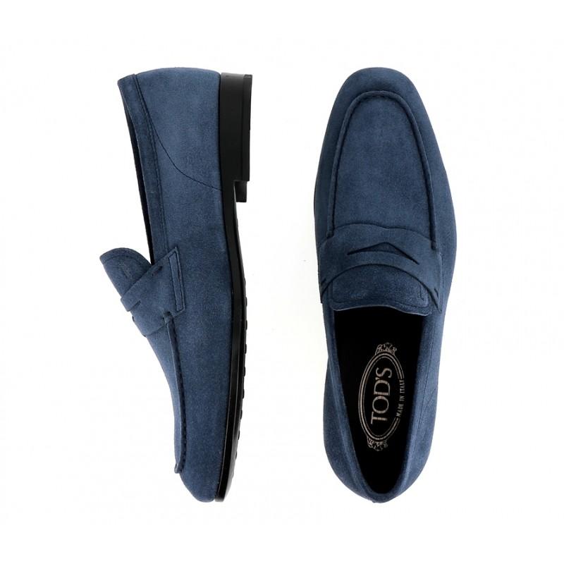 tod's mocassins et slippers MocassinsRIALTO 3 - NUBUCK - JEAN