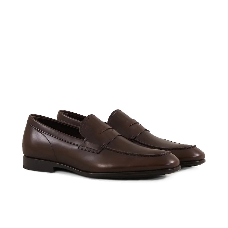 tod's mocassins et slippers MocassinsRIALTO 3 - CUIR - MARRON