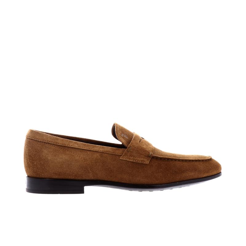 tod's mocassins et slippers MocassinsRIALTO 3 - NUBUCK - NOISETTE