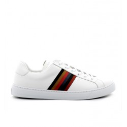 paul smith nouveautés sneakers Sneakers HansenPS SNEAK HANSEN - CUIR - BLANC E