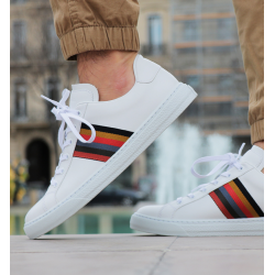 paul smith sneakers Sneakers HansenPS SNEAK HANSEN - CUIR - BLANC E