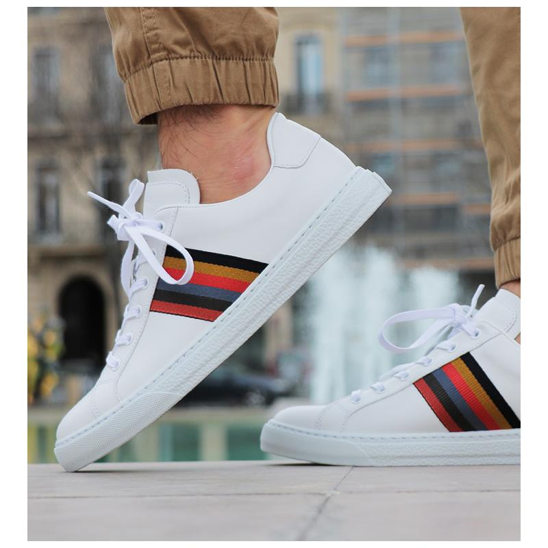 paul smith sneakers Sneakers HansenPS SNEAK HANSEN - CUIR - BLANC E