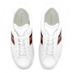 paul smith nouveautés sneakers Sneakers HansenPS SNEAK HANSEN - CUIR - BLANC E