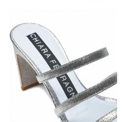 chiara ferragni nouveautés sandales SandalesCF SANDALE BRIDE T7 - CUIR PAILL