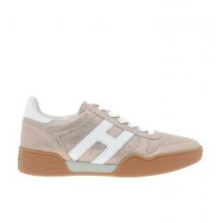 hogan sneakers Sneakers H357HF H357 - NUBUCK IRISÉ - ROSE