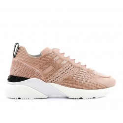 hogan nouveautés sneakers Sneakers Active OneHF ACTIVE ONE - NUBUCK PERFORE -
