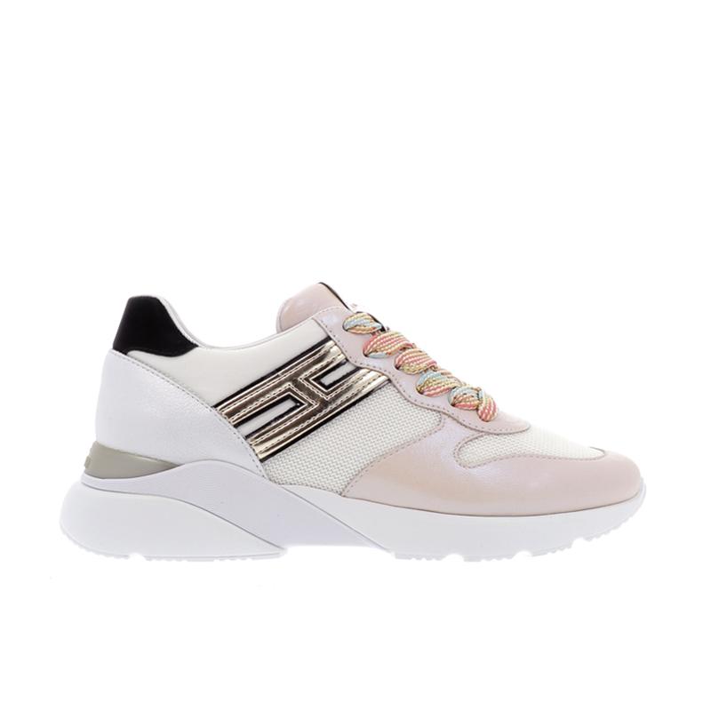 hogan nouveautés sneakers Sneakers Active OneHF ACTIVE ONE - CUIR ET TOILE -