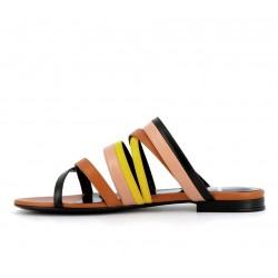 pierre hardy promotions sandales Sandales AlphaPHF ALPHA MULE - CUIR - NOIR, JA