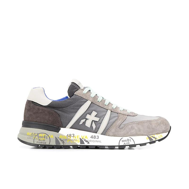 premiata sneakers Sneakers LanderPREMIATA H LANDER - CUIR, NUBUCK
