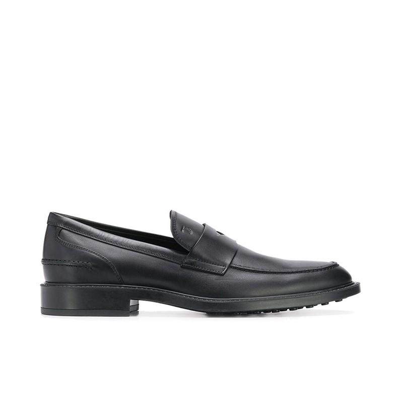tod's mocassins et slippers Mocassins CollègeCOLLEGE 2 - CUIR - NOIR