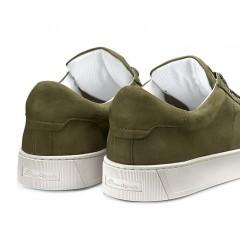 santoni nouveautés sneakers Sneakers GloriaNEW GLORIA 6 - NUBUCK - KAKI