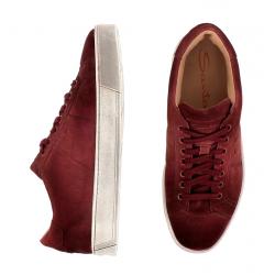 santoni nouveautés sneakers SneakersNEW GLORIA 6 - NUBUCK VIEILLI -