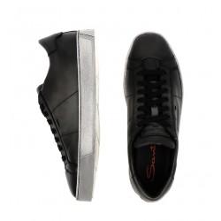 santoni nouveautés sneakers SneakersNEW GLORIA 6 - CUIR SOUPLE ET PA