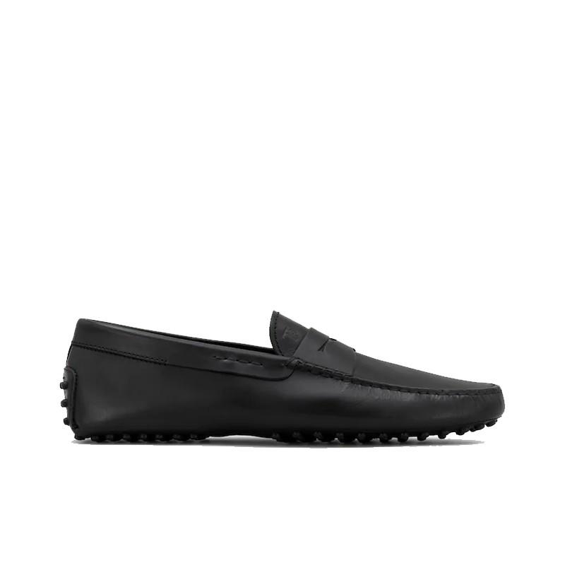 tod's mocassins et slippers Mocassins GomminoGOMMINI - CUIR SOUPLE - NOIR